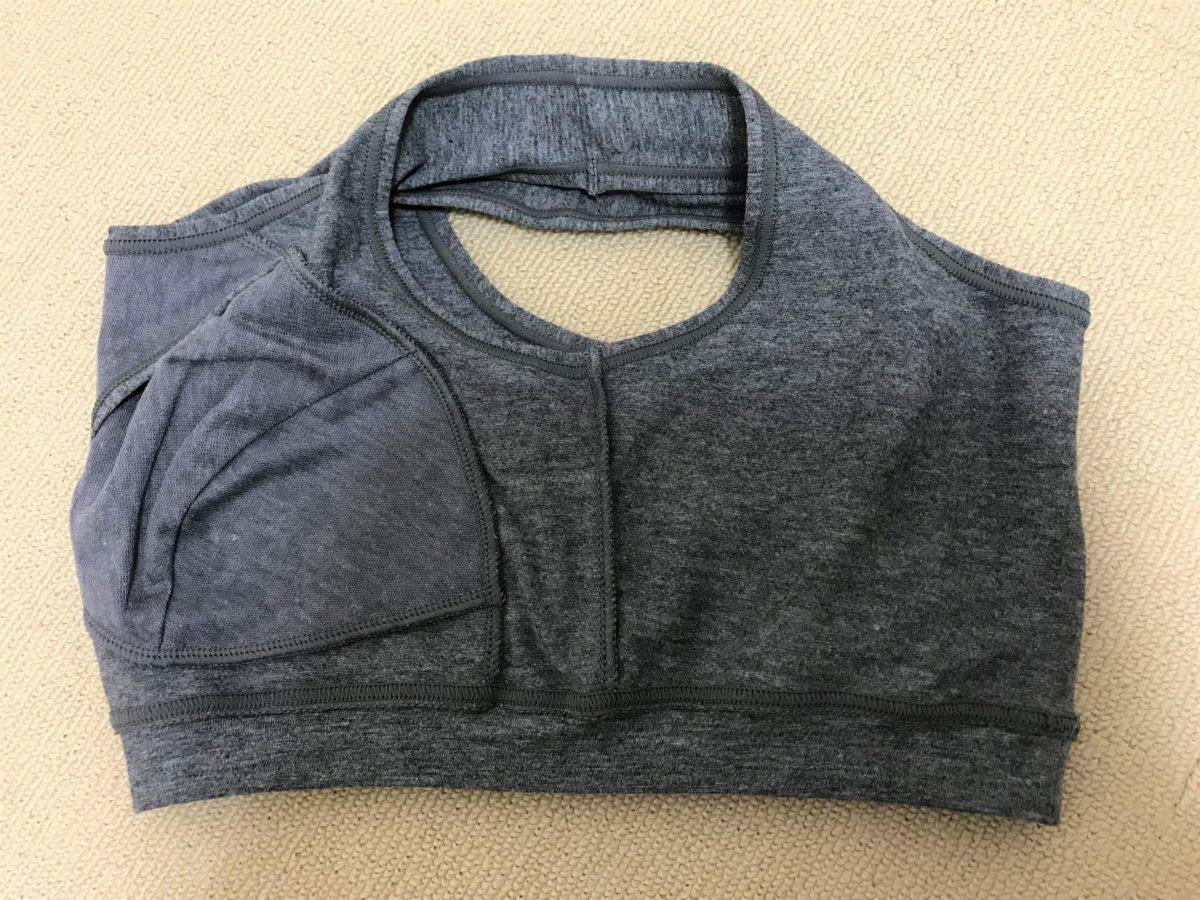 トリンプのプレジアフォルテ美胸ナイトブラ2⑭トリンプのプレジアフォルテ美胸ナイトブラ2裏返し脇部分