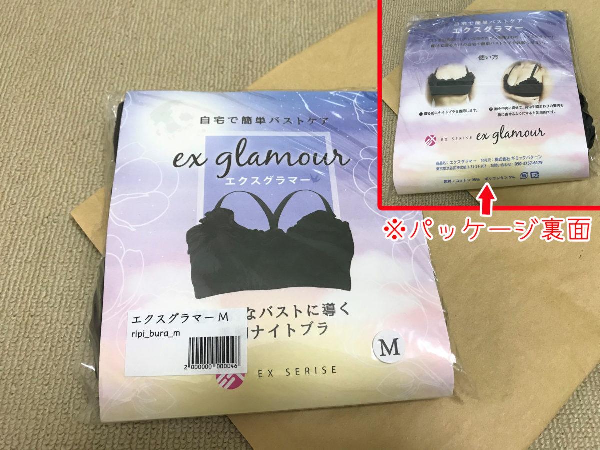 エクスグラマー2商品の状態とパッケージの表裏