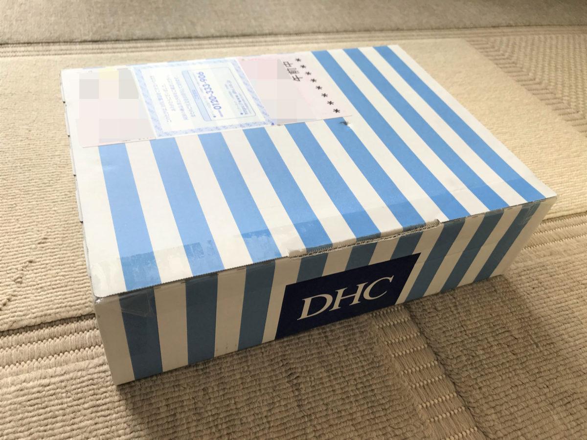 dhc1DHC(ディーエイチシー)のナイトブラ癒しのぴちっとブラ(シルク混)到着した状態