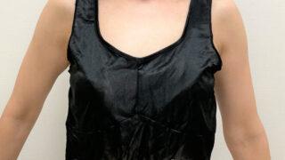 silkbeauty5コジットのシルクビューティナイトブラ着用正面